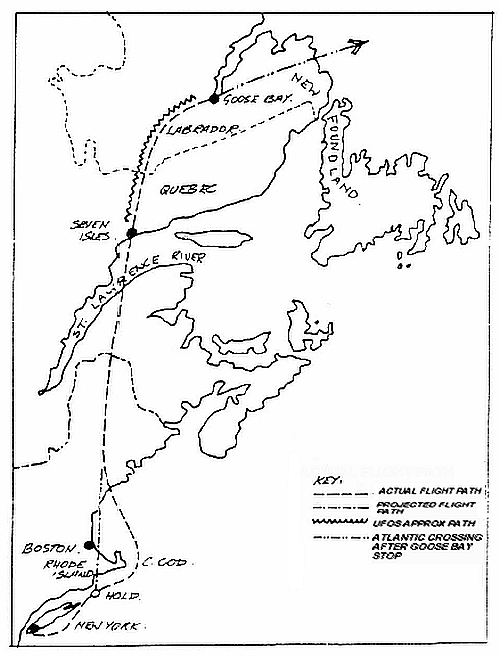 project 1947 updated draft catalogue of ufos usos reported by CDL Driving Test On Road map of boac labrador ufo sighting loren gross